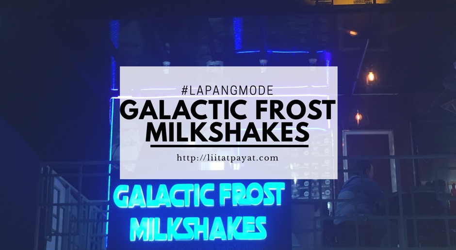 Galactic Frost Milkshakes: Not your ordinary milkshake